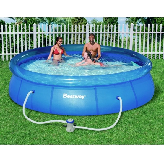 Bazen bestway fast set pool 366 x 76 for Piscina inflable bestway
